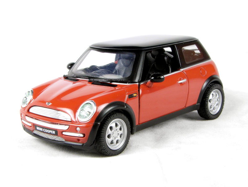 corgi collectables cc86505 bmw mini cooper in flamenco orange. Black Bedroom Furniture Sets. Home Design Ideas