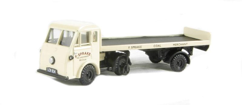 EM76505 Classix OO Scale Jen-Tug /& Flatbed Trailer CORONA FAMILY DRINKS
