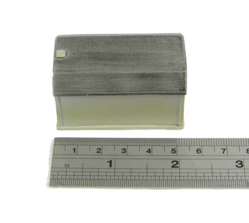 Hattons hornby r concrete plate layers hut