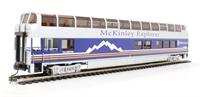 "Bachmann USA 13344 89' - Mckinley Explorer ""Talkeetna"" #1057 (B Car) (Lighted Interior)"