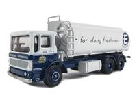 EFE 13601 AEC Ergo 3 axle elliptical tanker 'Express Dairy'