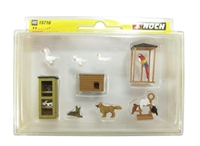 Noch 15716Noch Pets (assorted x 9 pieces)
