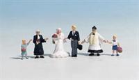 Noch 15860Noch Wedding Group with Priest