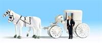 Noch 16706Noch Horse Drawn Wedding Carriage