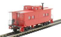 Bachmann USA 16806 Northeast Steel Caboose Painted, Unlettered in red