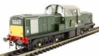 Heljan 1716 Class 17 diesel D8585 in green with small yellow panels