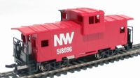 Bachmann USA 17742 American 36ft wide vision caboose in Norfolk & Western livery