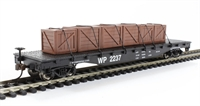 Bachmann USA 18932 Flat Car Western Pacific with crated load