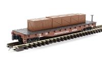 Bachmann USA 18957 Flat Car Pennsylvania Railroad With Crated Load
