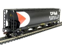 Bachmann USA 19129 American Cylindrical Grain Hopper Wagon in Canadian Pacific livery