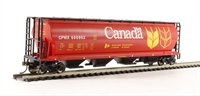 Bachmann USA 19131 American cylindrical grain hopper wagon in Canada Grain livery