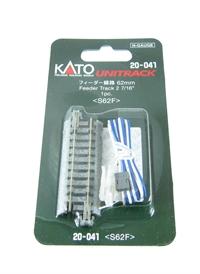 Kato 20-041 Ground Level 62mm Single Feeder Track