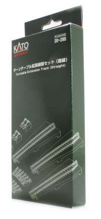 Kato 20-285 Turntable Extension Track Set (Straight)