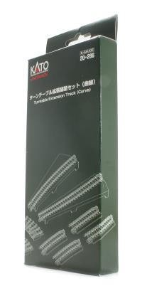 Kato 20-286 Turntable Extension Track Set (Curve)
