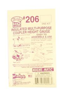 Kadee 206KADEE Insulated Multi-purpose Coupler Height Gauge