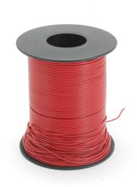 Expo Drills & Tools 22020 100m Drum 18 Strand Cable Red - Outside Diameter: 1.0mm
