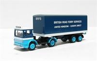 "EFE 22105 Ergo Artic. box van lorry ""British Road Ferry Services"""