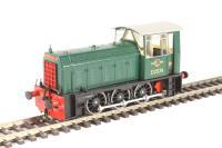 Heljan 2500 Class 05 Hunslet shunter D2574 in BR green