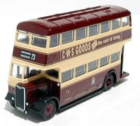 "EFE 26311 Guy Arab 2 utility 1940's d/deck bus ""Cardiff Corporation"""