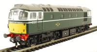 Heljan 2663 Class 26/0 diesel D5317 in BR green with small yellow panels