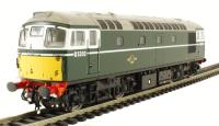 Heljan 2664 Class 26/0 diesel D5302 in BR green with small yellow panels