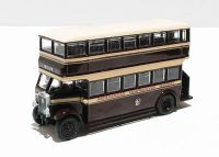 "EFE 27202A Leyland Titan TD1 early 1930's d/deck bus with open staircase ""Birkenhead Corporation"". Box labelled 27202DA"
