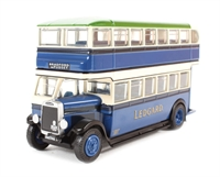 """EFE 27309 Leyland Titan TD1 1930's d/deck bus with enclosed stairs """"Samuel Ledgard""""."""