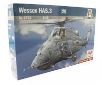 Italeri 2732it Westland Wessex HAS.3 Anti-Submarine/Search & Rescue helicopter (includes decals for FAA/Navy & RAF Rescue)