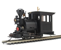 Bachmann USA 28098 Porter 0-4-0 - Black Unlettered Vertical Panel