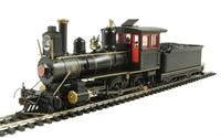 Bachmann USA 28303 American 4-4-0 inside frame steam loco G&R Unlettered