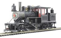 Bachmann USA 28601BAC 28Ton Climax truck, with wooden cab unlettered - black, red & white