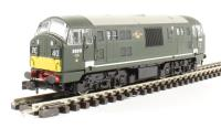Dapol 2D-012-004D Class 22 diesel locomotive D6313 in BR green with small yellow panels. DCC fitted