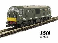 Dapol 2D-012-005D Class 22 diesel locomotive D6331 in BR green with small yellow panels. DCC fitted