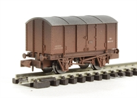 "Dapol 2F-013-010 Gunpowder van ""BR"" - weathered"