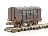 "Dapol 2F-013-012 Gunpowder van ""Rugby Cement"" - weathered"