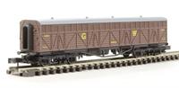 Dapol 2F-024-002 Siphon G milk wagon 1451 in GWR livery