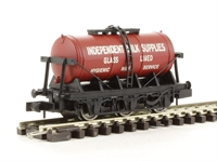 "Dapol 2F-031-003 6 wheel milk tanker ""Independent Milk"""