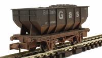 "Dapol 2F-034-026 21 Ton Hopper wagon ""British Gas"" - weathered"