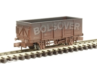 "Dapol 2F-038-014 20 Ton steel mineral wagon ""Bolsover"" - weathered"