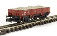 Dapol 2F-060-001 Grampus wagon DB990641 in Indian red