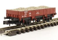 Dapol 2F-060-002 Grampus wagon DB990648 in Indian red