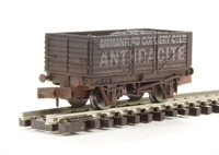 "Dapol 2F-071-011 7 plank wagon ""Ammanford Colliery"" - weathered"