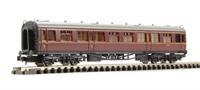 Dapol 2P-000-001 Collett composite coach W7016 in BR maroon/crimson