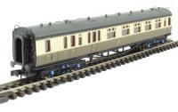 Dapol 2P-000-251 Collett Coach GWR Chocolate & Cream Brake Composite 6537