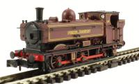 Dapol 2S-007-005 Class 57xx Pannier tank steam loco #L97 in London Transport maroon