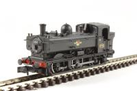 Dapol 2S-007-006D Class 5700 Pannier 0-6-0 3702 in BR black with late crest - DCC Fitted
