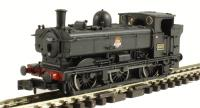 Dapol 2S-007-007 Class 57xx Pannier #4607 in BR black with early crest