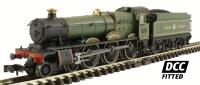"Dapol 2S-010-000D Class 49xx Hall steam locomotive 4937 ""Lanelay Hall"" in GWR lined green livery. DCC fitted"