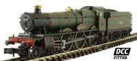 "Dapol 2S-010-002D Class 49xx Hall steam locomotive 4914 ""Cranmore Hall"" in BR lined green with late crest. DCC fitted"