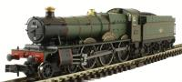 "Dapol 2S-010-002 Class 49xx Hall steam locomotive 4914 ""Cranmore Hall"" in BR lined green with late crest"